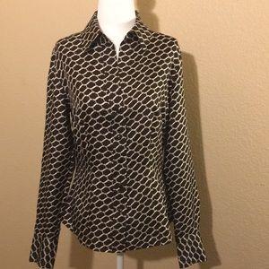 Ann Taylor long sleeve shirt size 4.